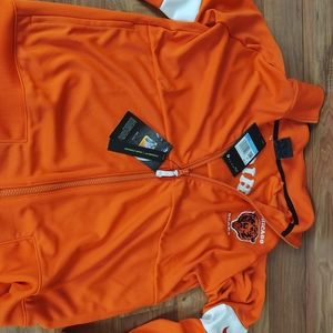 Women Nike Orange Chicago Bears Jacket Medium CI08